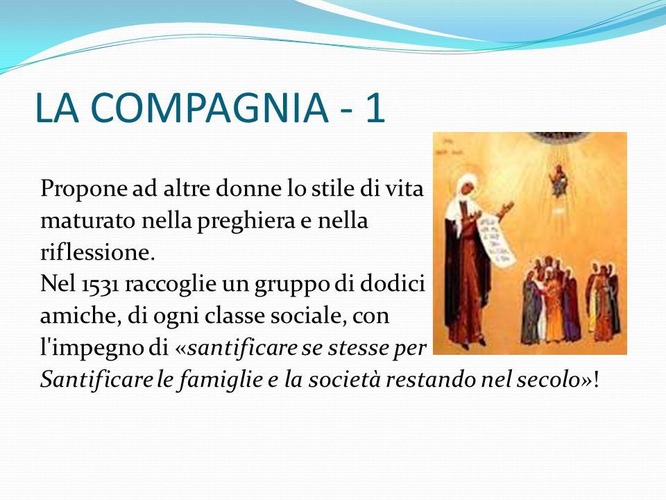 LA COMPAGNIA - 1