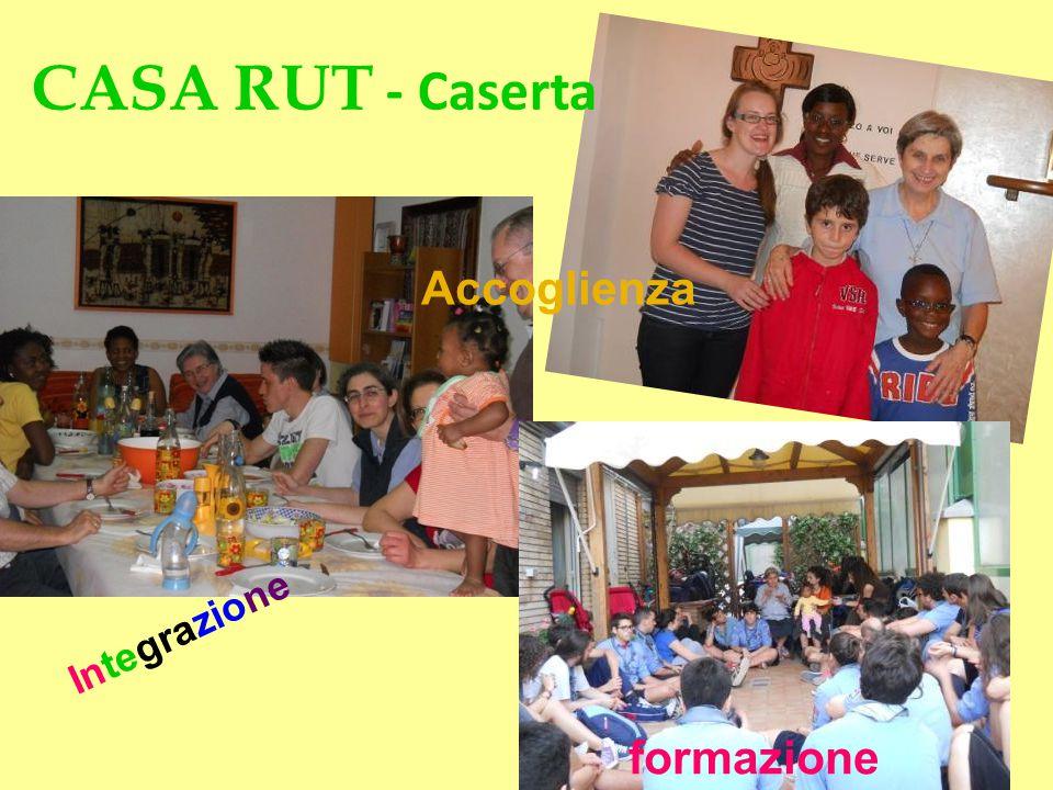 CASA RUT - Caserta Accoglienza Integrazione formazione