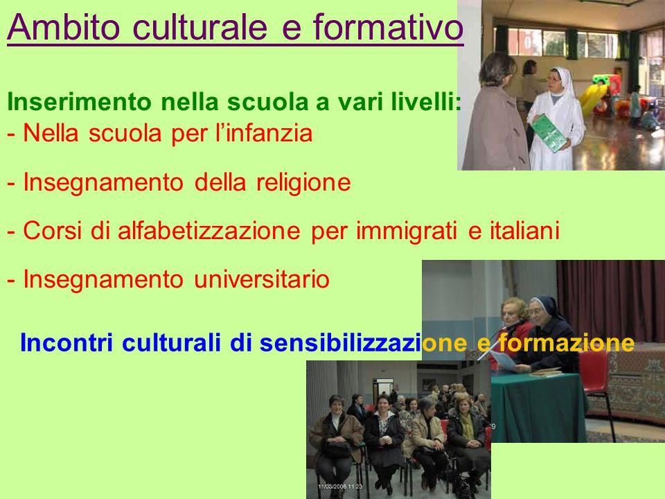 Ambito culturale e formativo