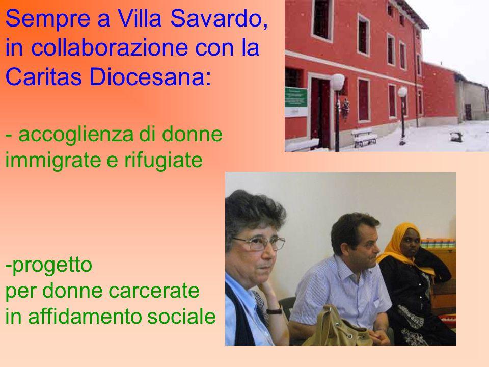 in collaborazione con la Caritas Diocesana: