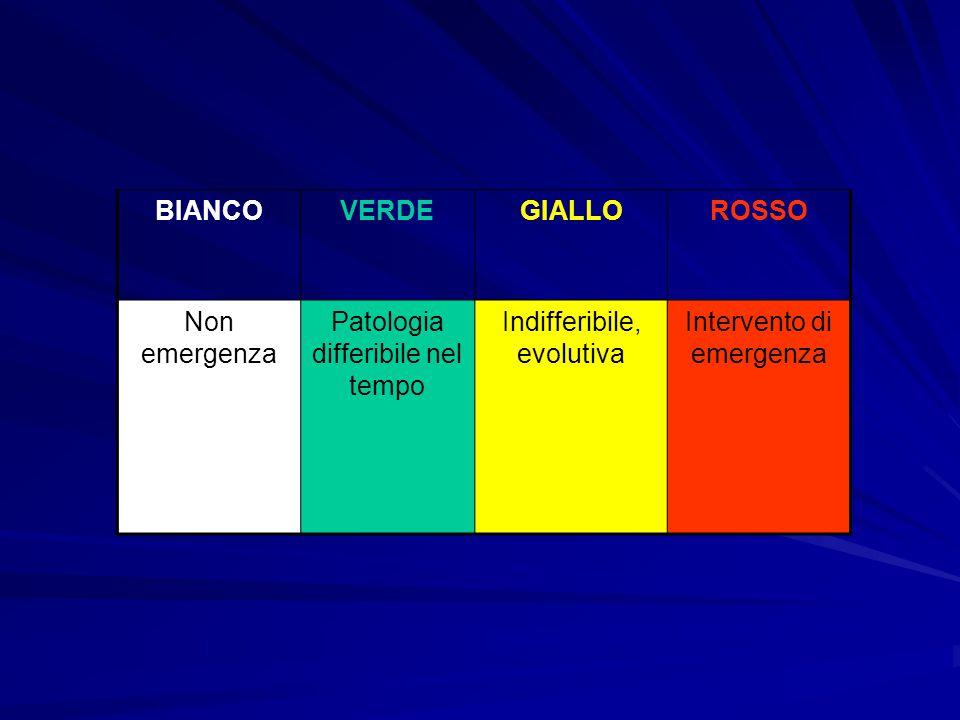 BIANCO VERDE GIALLO ROSSO