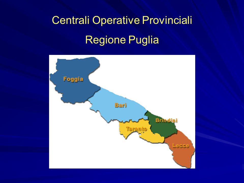 Centrali Operative Provinciali