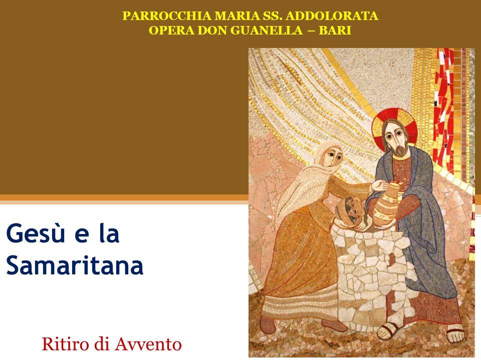 PARROCCHIA MARIA SS. ADDOLORATA OPERA DON GUANELLA – BARI