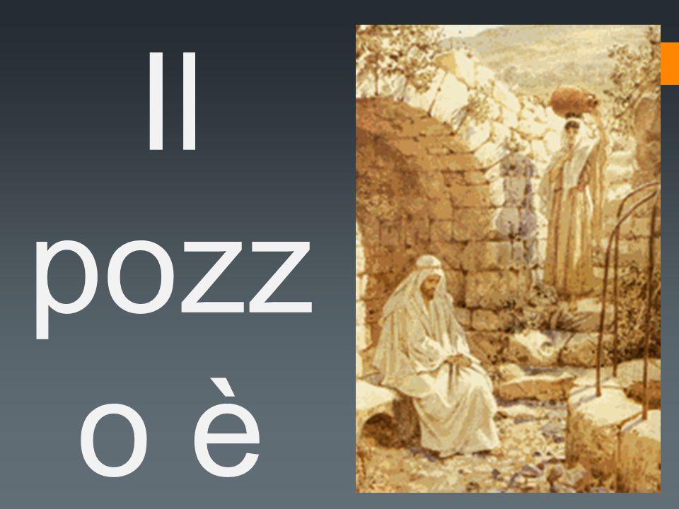 Il pozz o è situa to nelle vicin anze in un pode re che Giac obbe avev a dato a Gius eppe suo figlio .