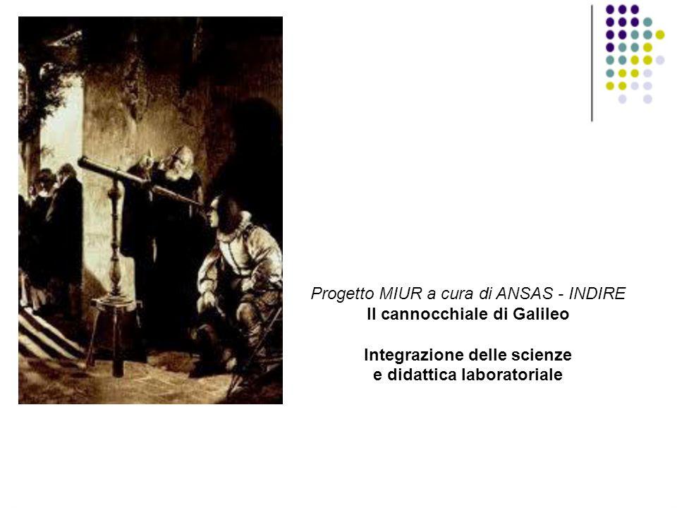 Progetto MIUR a cura di ANSAS - INDIRE Il cannocchiale di Galileo