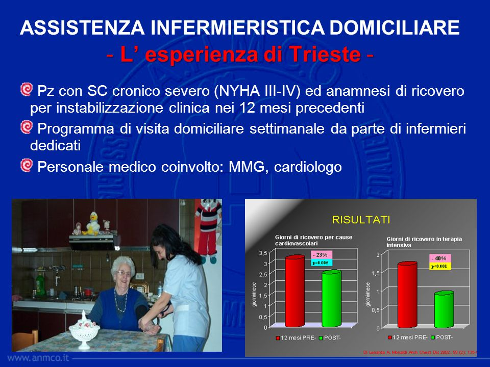 ASSISTENZA INFERMIERISTICA DOMICILIARE - L' esperienza di Trieste -