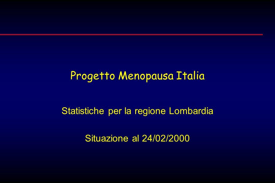 Progetto Menopausa Italia