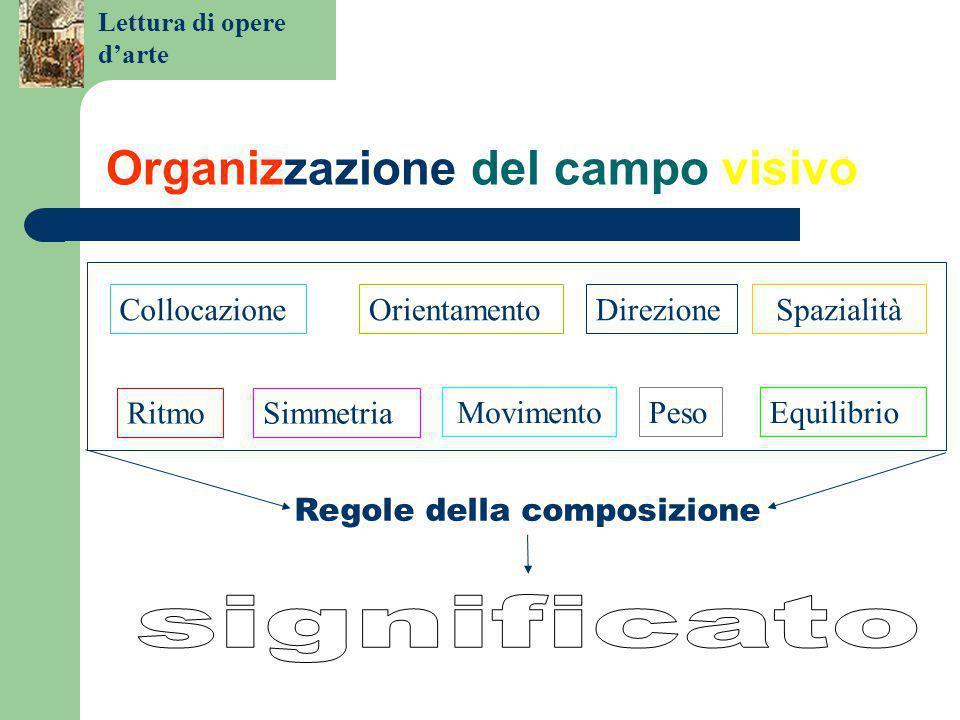 Organizzazione del campo visivo