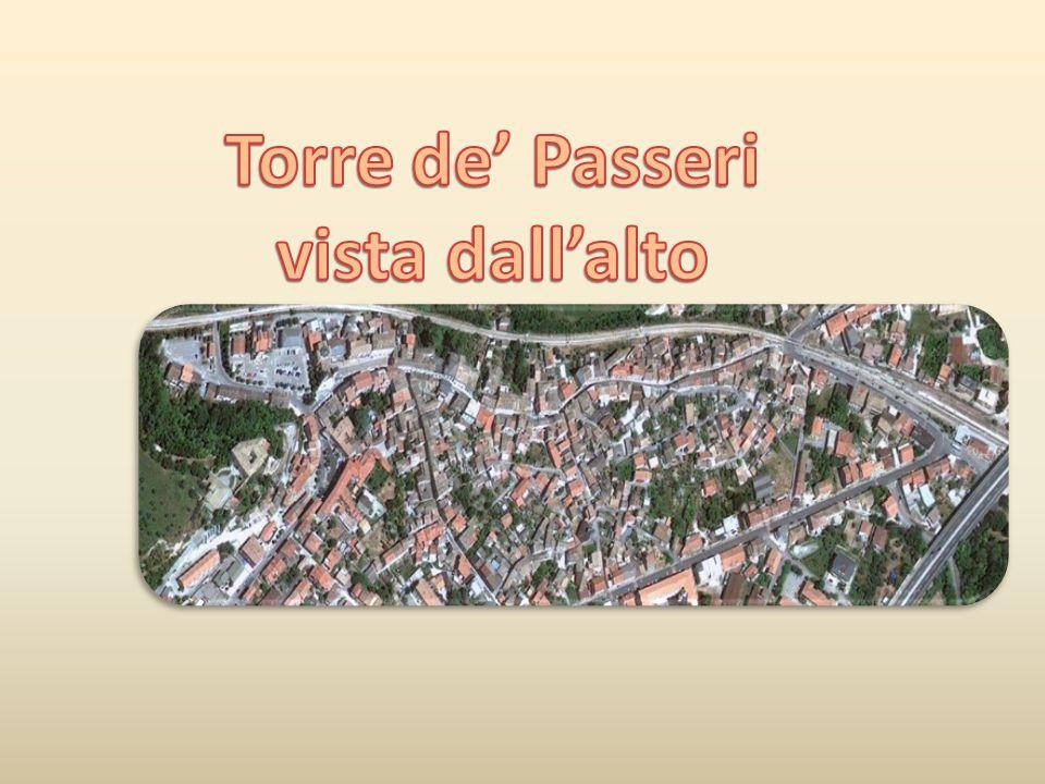 Torre de' Passeri vista dall'alto