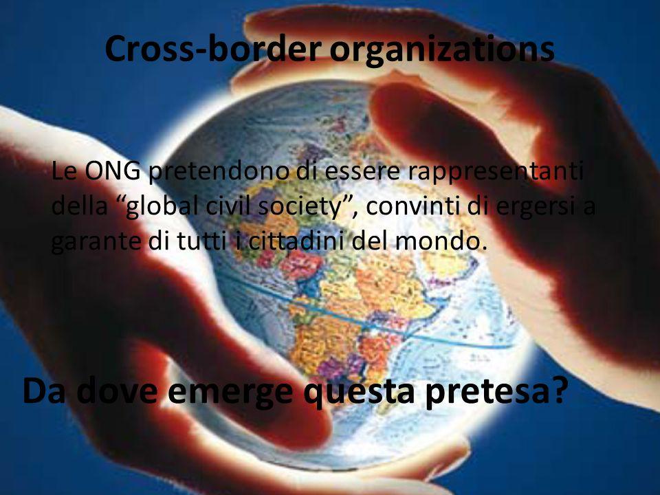Cross-border organizations