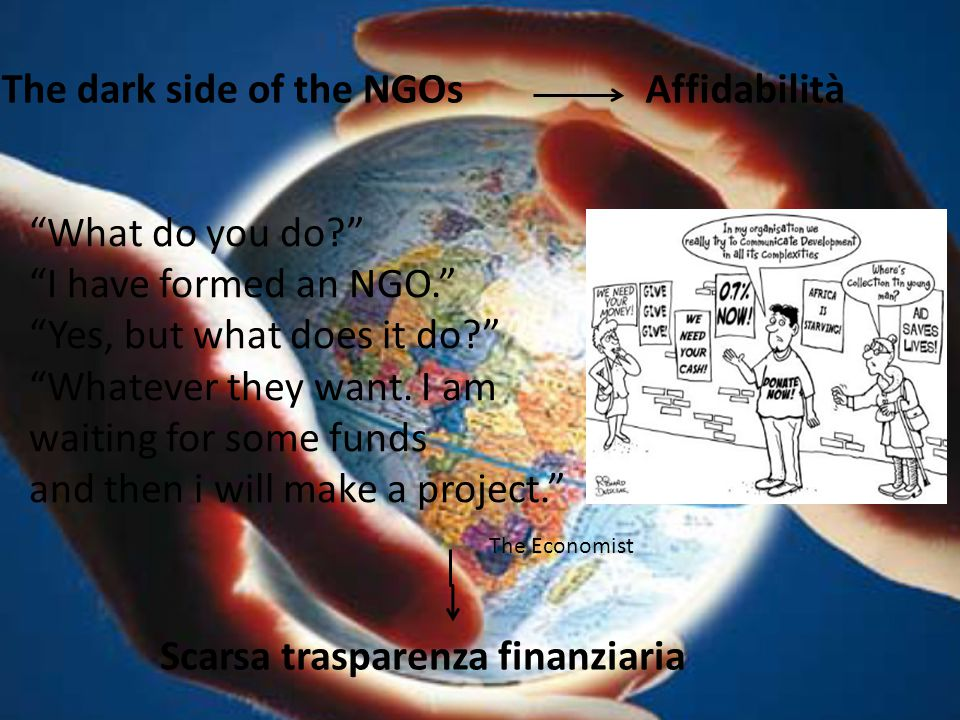 The dark side of the NGOs Affidabilità