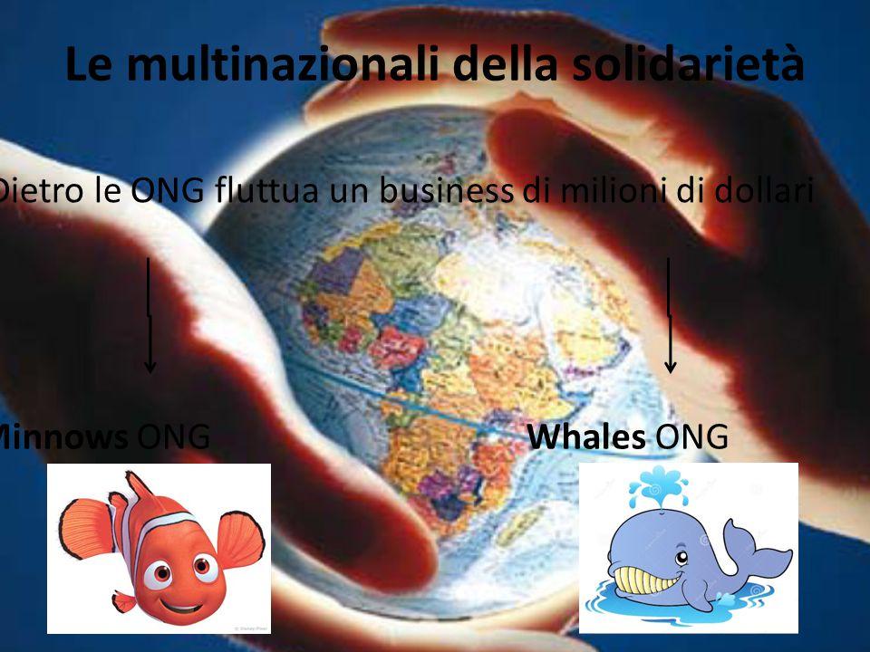 Le multinazionali della solidarietà