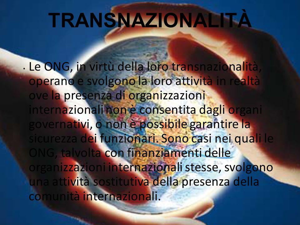 TRANSNAZIONALITÀ