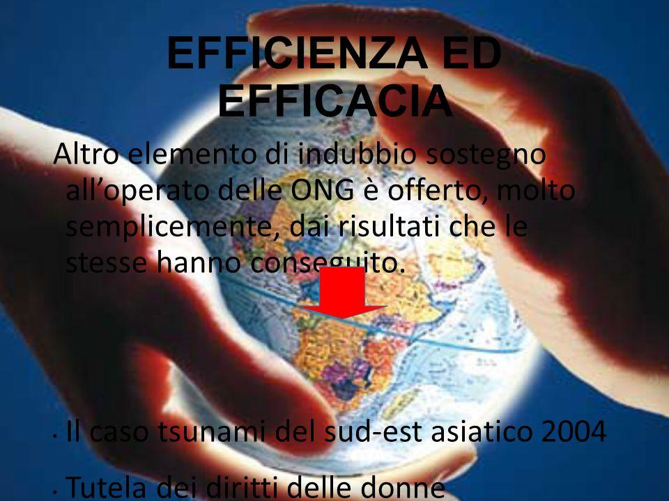 EFFICIENZA ED EFFICACIA