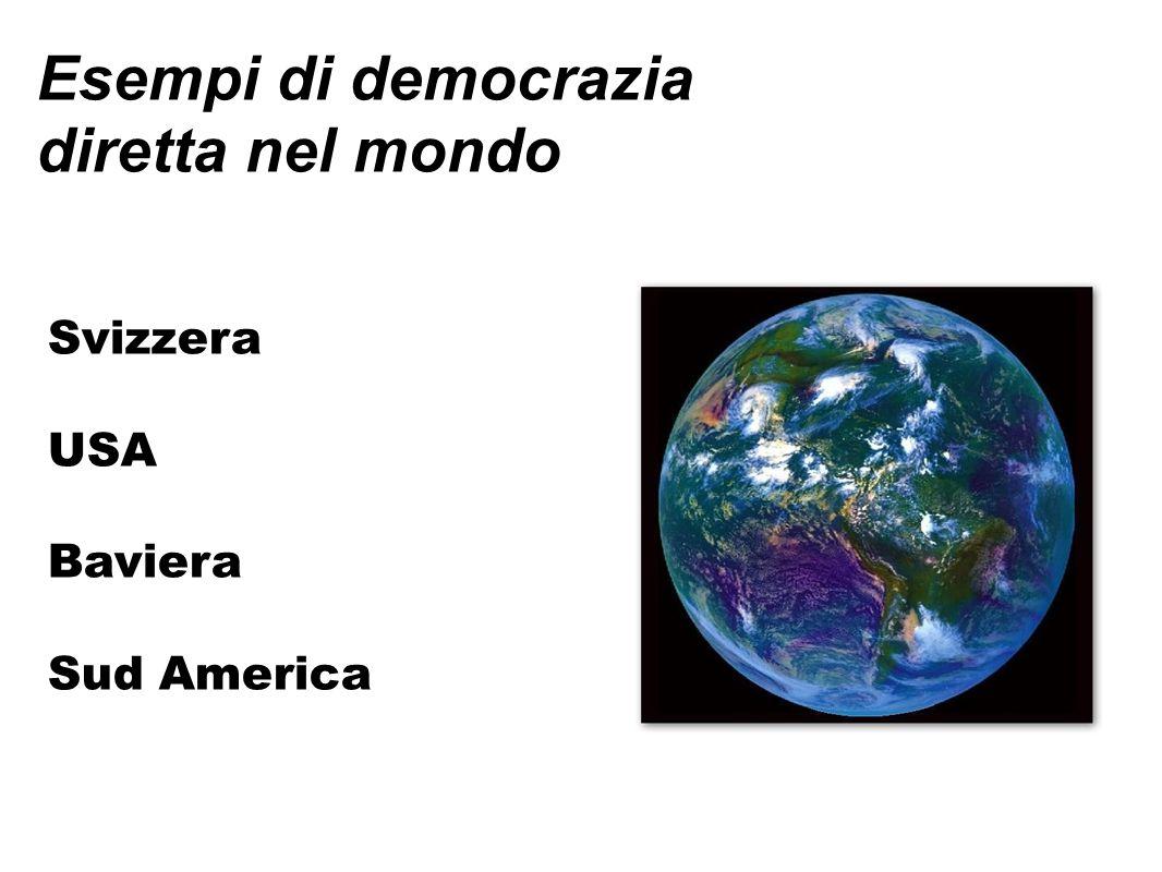 Esempi di democrazia diretta nel mondo