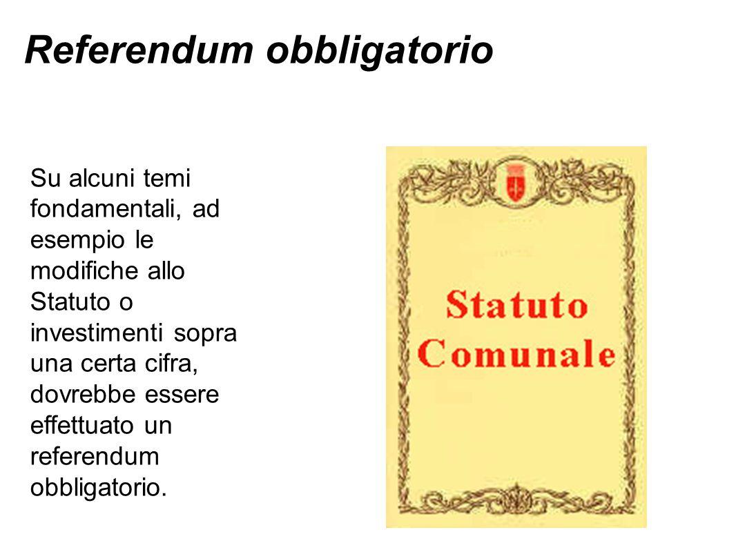 Referendum obbligatorio
