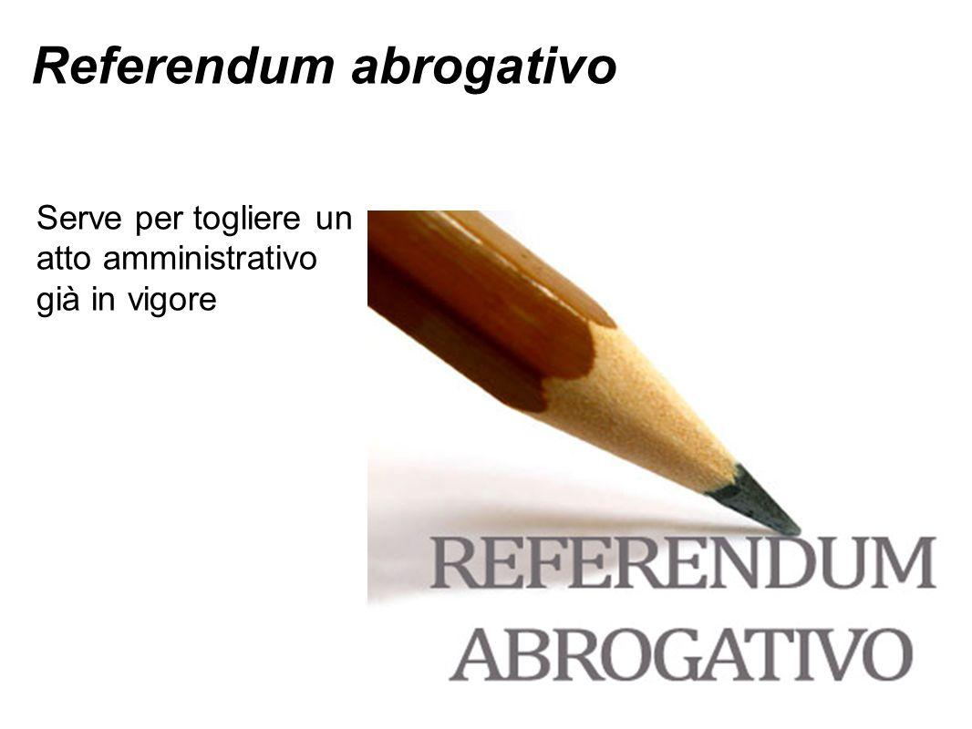 Referendum abrogativo