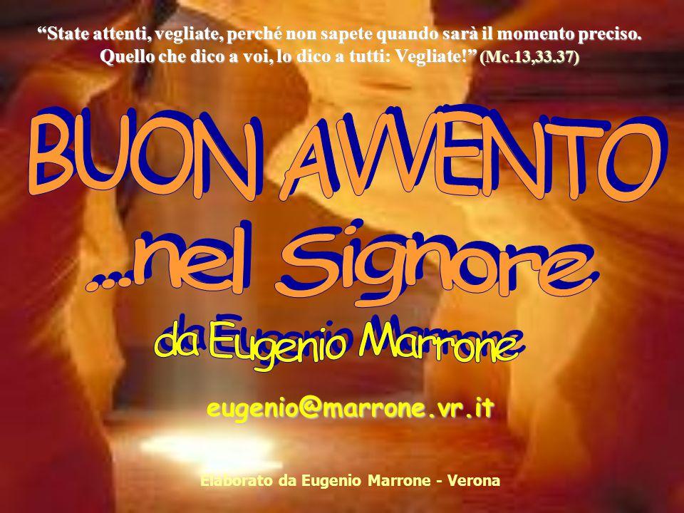 Elaborato da Eugenio Marrone - Verona