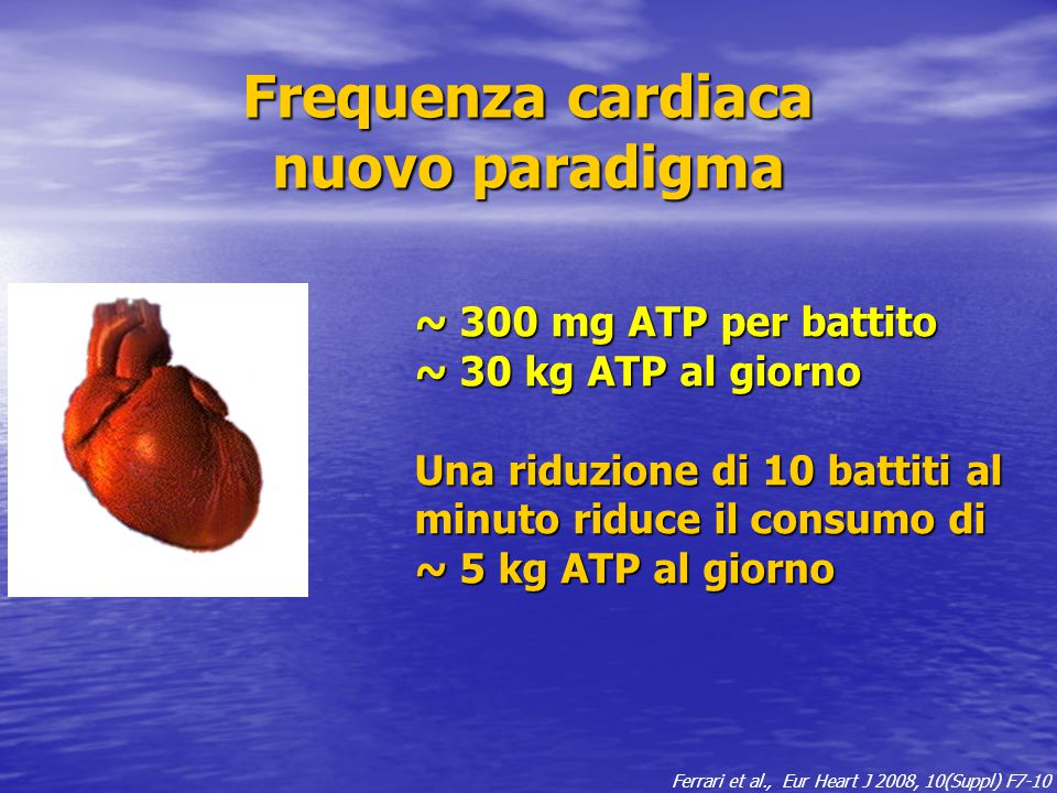 Frequenza cardiaca nuovo paradigma