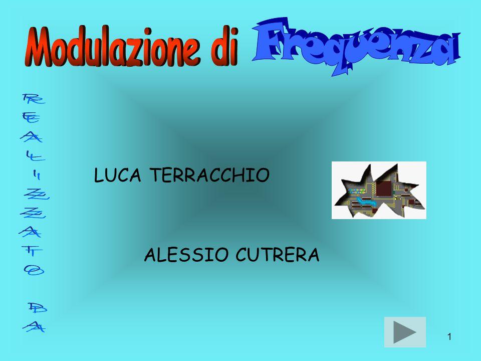 Frequenza Modulazione di REALIZZATO DA LUCA TERRACCHIO ALESSIO CUTRERA