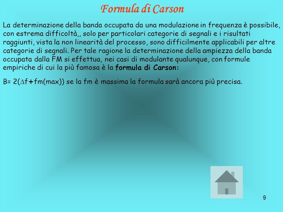 Formula di Carson