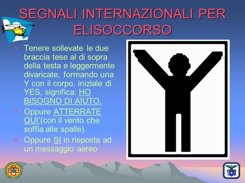 SEGNALI INTERNAZIONALI PER ELISOCCORSO