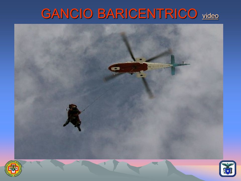 GANCIO BARICENTRICO video