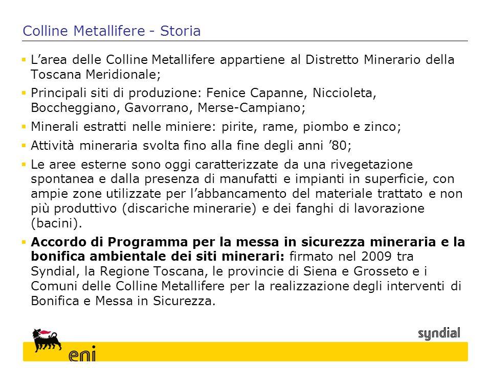 Colline Metallifere - Storia