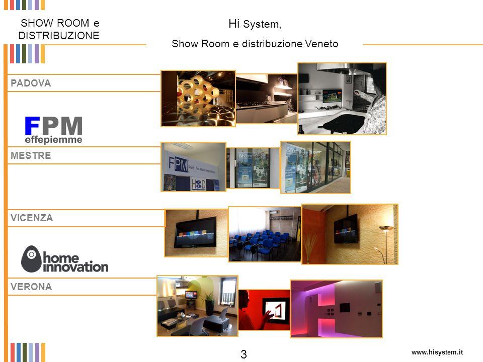 Show Room e distribuzione Veneto