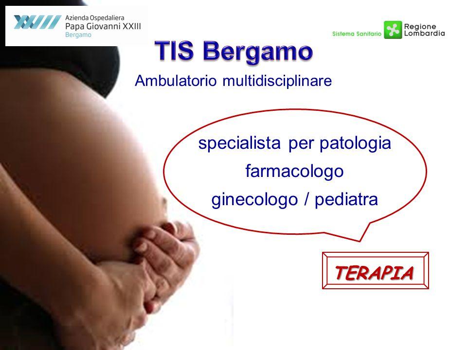 TIS Bergamo specialista per patologia farmacologo