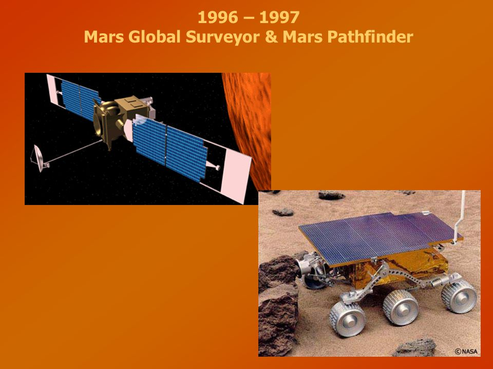 Mars Global Surveyor & Mars Pathfinder