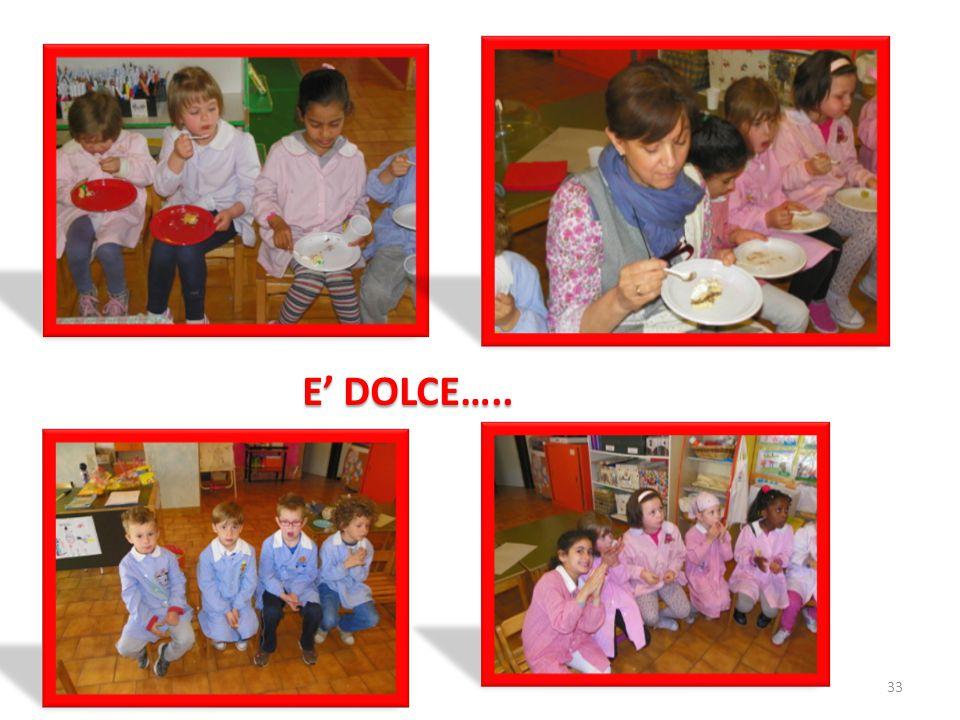 E' DOLCE…..