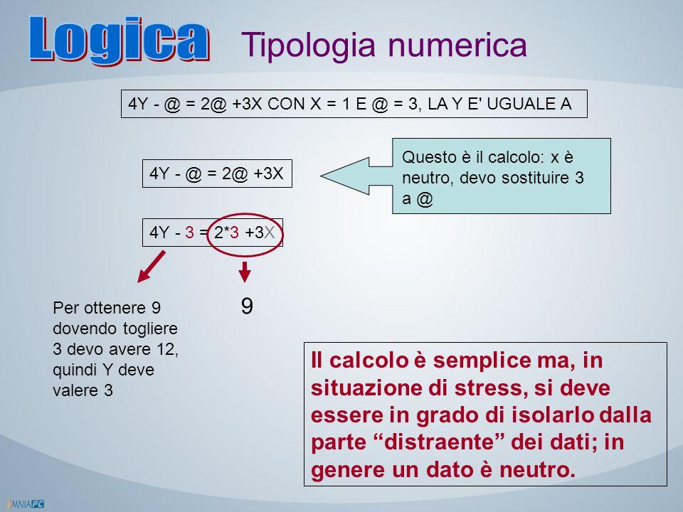 Logica Tipologia numerica 9