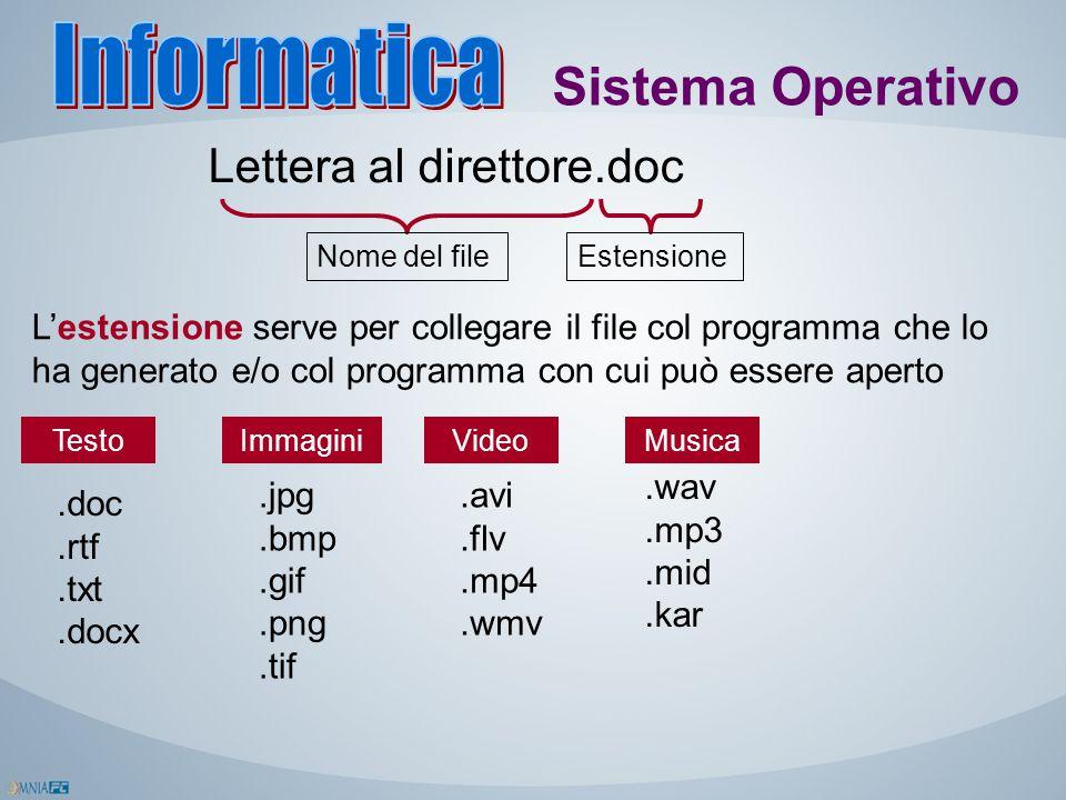 Informatica Sistema Operativo Lettera al direttore.doc