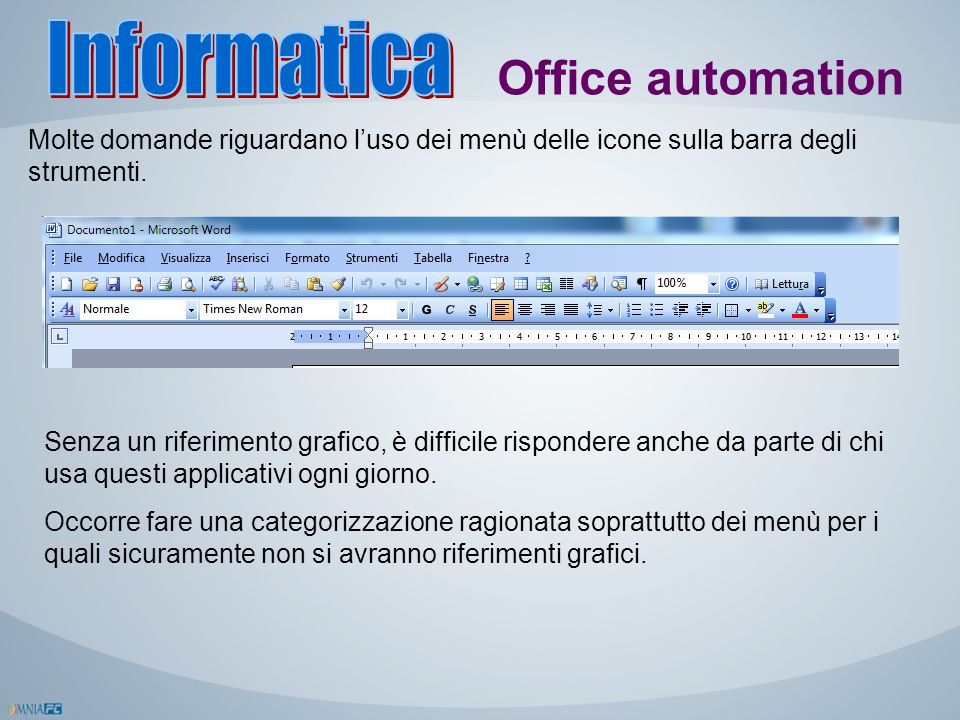 Informatica Office automation