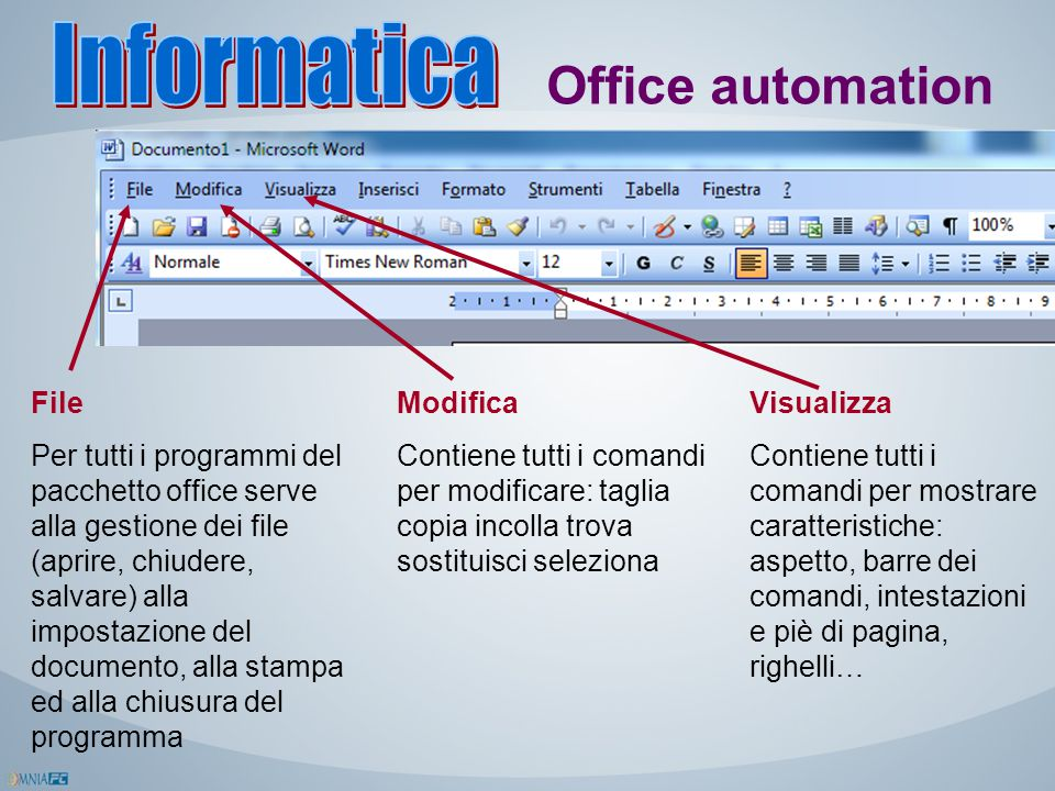 Informatica Office automation File
