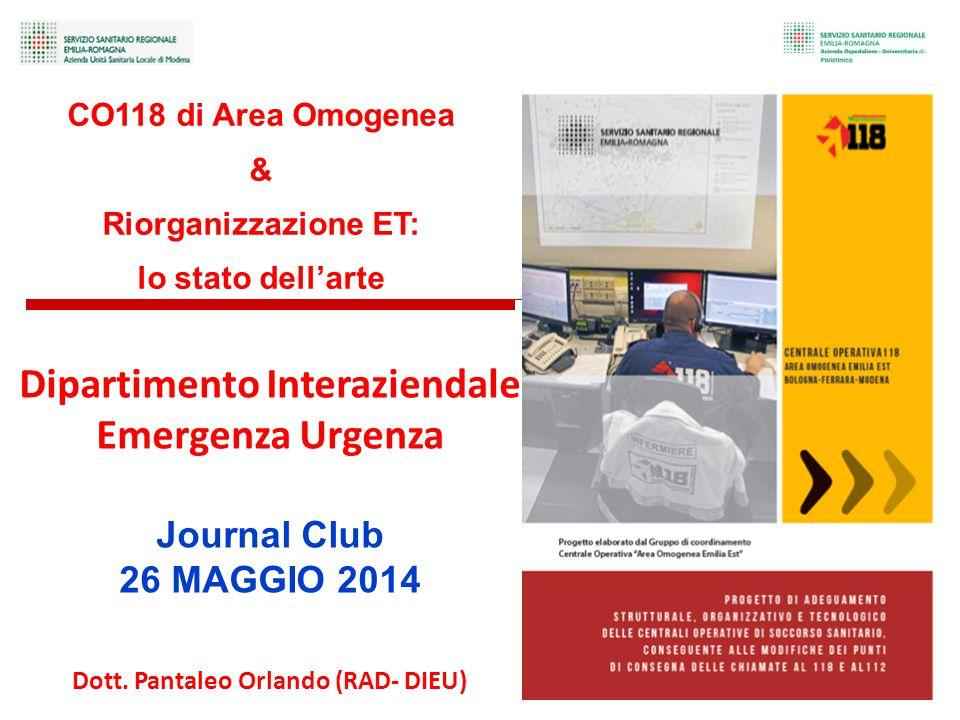 Dipartimento Interaziendale Dott. Pantaleo Orlando (RAD- DIEU)