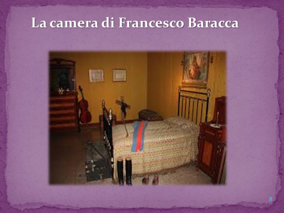 La camera di Francesco Baracca