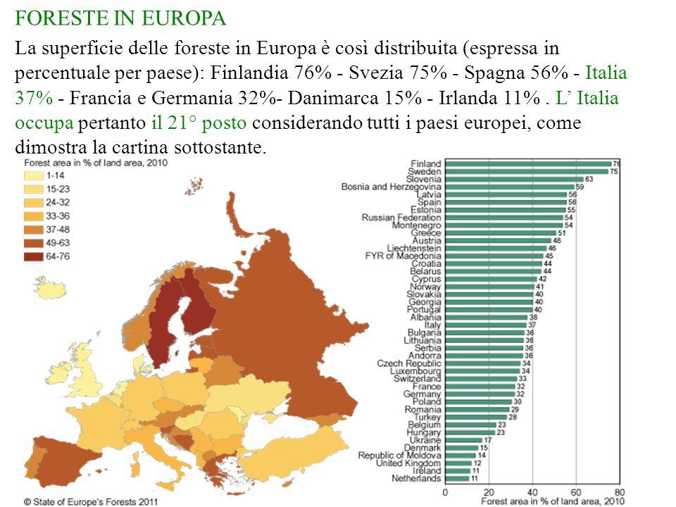 FORESTE IN EUROPA