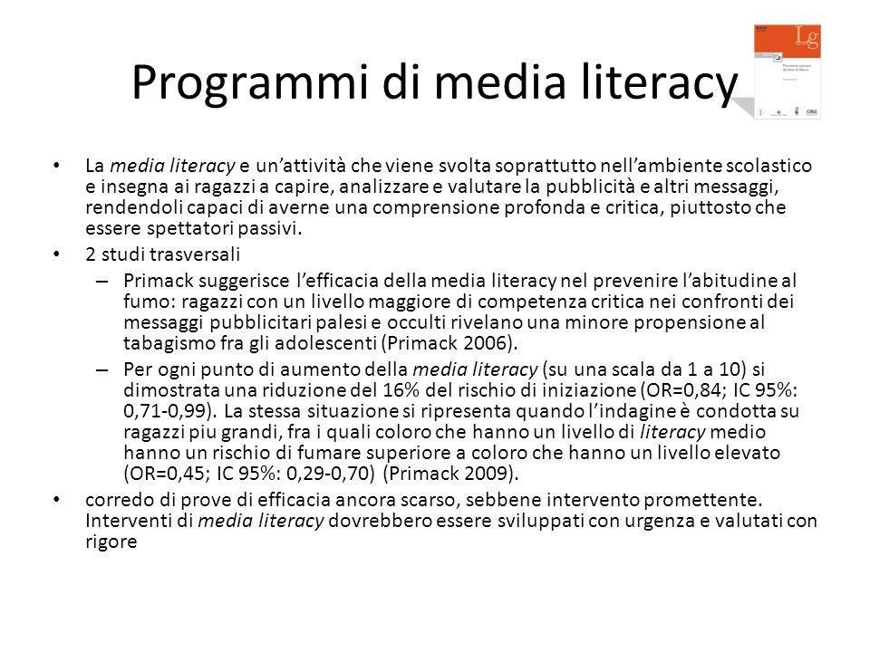 Programmi di media literacy