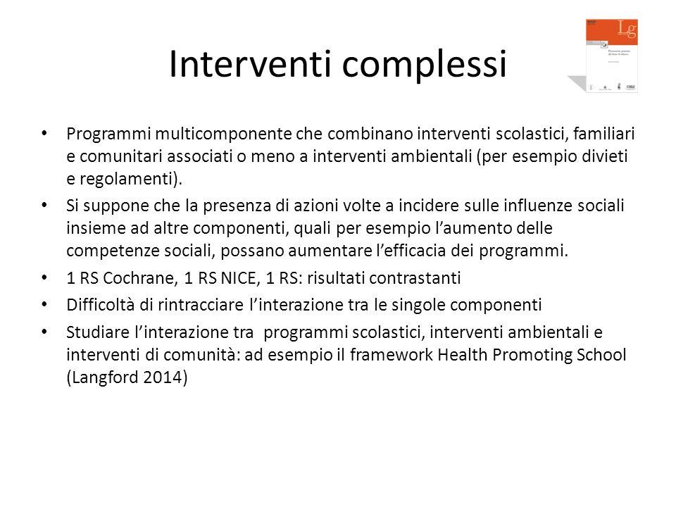 Interventi complessi