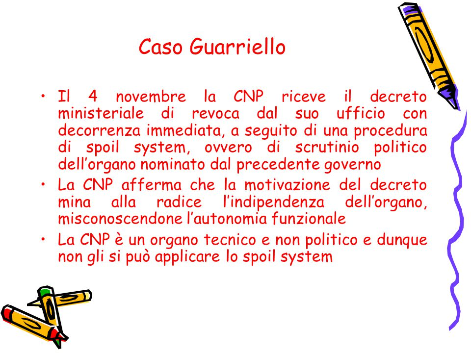 Caso Guarriello