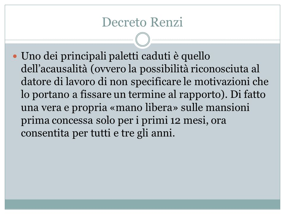 Decreto Renzi