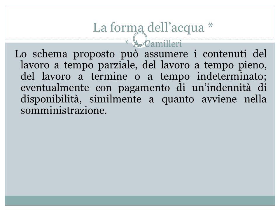 La forma dell'acqua * * A. Camilleri