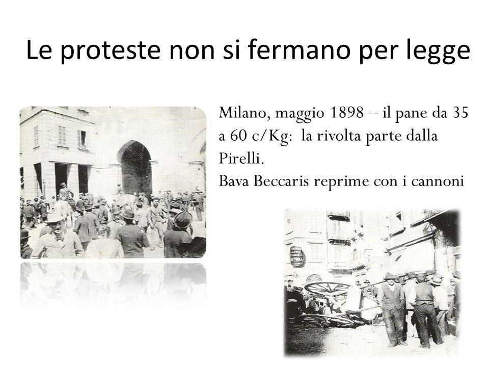 Le proteste non si fermano per legge