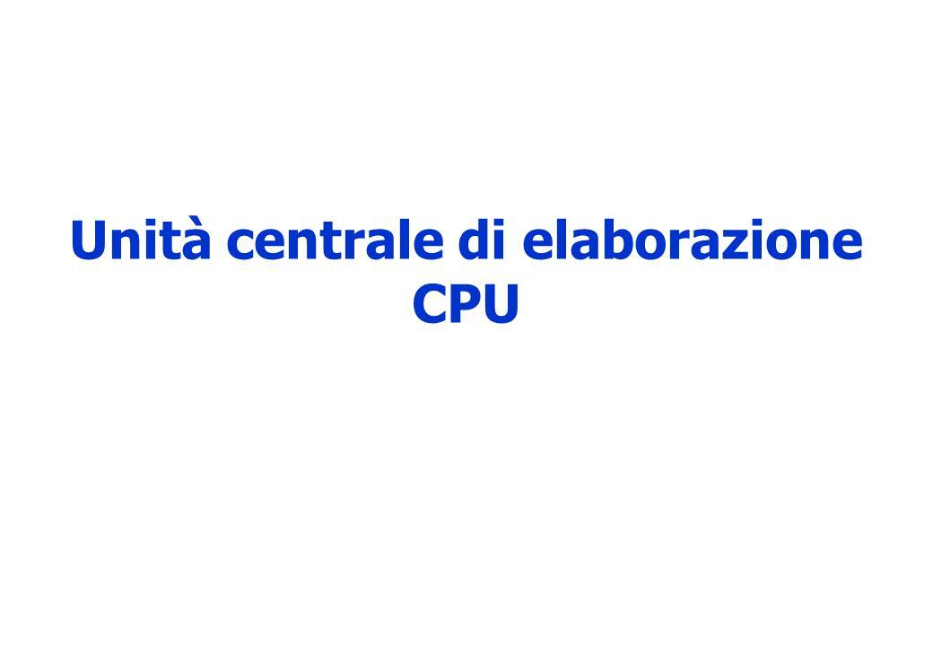 Unità centrale di elaborazione CPU