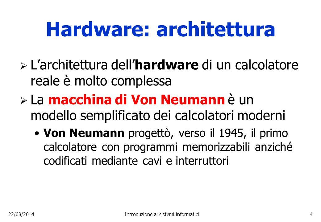 Hardware: architettura