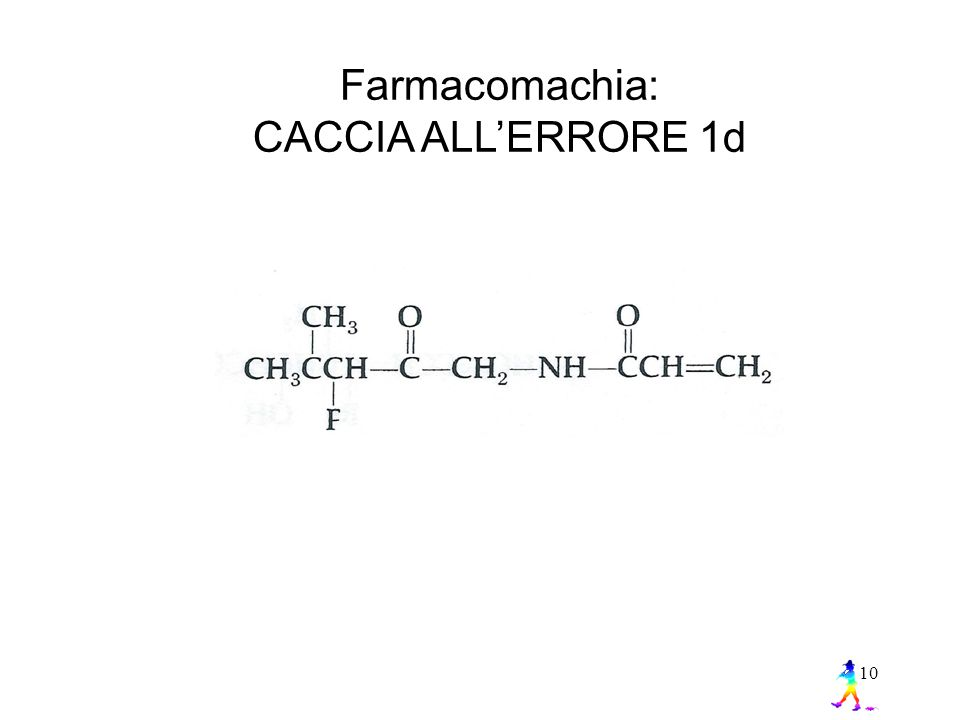 Farmacomachia: CACCIA ALL'ERRORE 1d