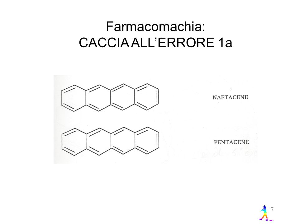 Farmacomachia: CACCIA ALL'ERRORE 1a