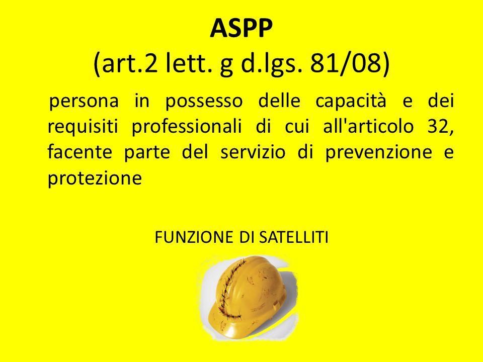 ASPP (art.2 lett. g d.lgs. 81/08)